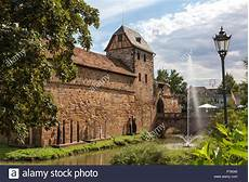 historic bad vilbel hesse germany stock photo 211005093