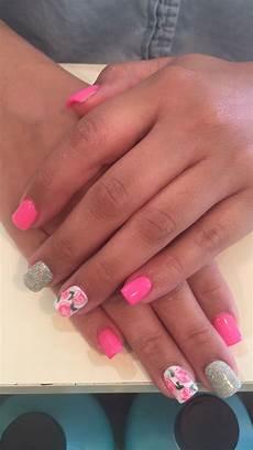 pink roses nail design rose nail design rose nails nails