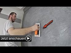 betonoptik selber machen i alpina wand spachteltechnik zum