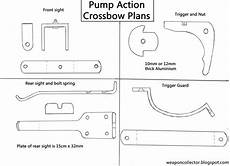 crossbow plans weaponcollector s knuckle duster and weapon blog how to make a pump action crossbow full
