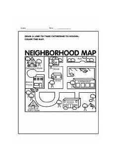 mapping worksheets for esl 11504 worksheet neighborhood map worksheets map the neighbourhood