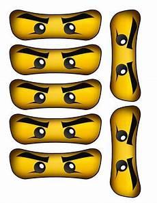 Ninjago Malvorlagen Augen Pdf Instant Diy Printable Ninjago Inspired Door