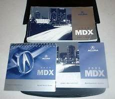 car repair manuals online free 2005 acura mdx security system 2005 acura mdx owners manual set 05 guide w case ebay