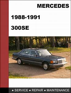 car owners manuals free downloads 1991 mercedes benz s class transmission control mercedes benz 300se w126 1988 1991 factory workshop service manual