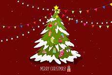 poster merry christmas with tree and gift box download free vectors clipart graphics vector art