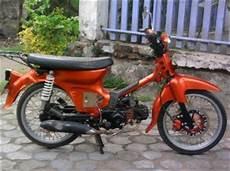 Modifikasi C70 Simple by Modif Honda C70 Minimalis Simple Boplo
