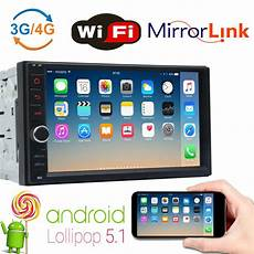 7 inch din android 5 1 car mp5 player stereo wifi