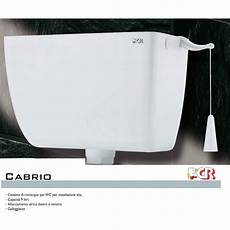 cassette per wc cassetta wc esterna di scarico alta con catenella in abs