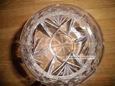 le kristall sch 246 ne alte kristall vase bleikristall schleuderstern ca