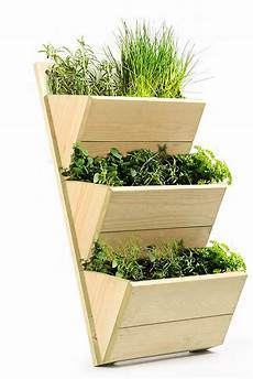 vasi per erbe aromatiche 3 tier wooden shelf planter high quality wall hanging