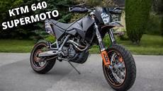 Ktm Lc4 Supermoto - ktm lc4 640 supermoto test ride motovlog
