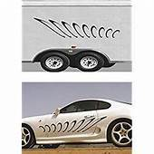 GIANT TRIBAL SIDE CUSTOM CAR GRAPHICS DECAL STICKER VINYL