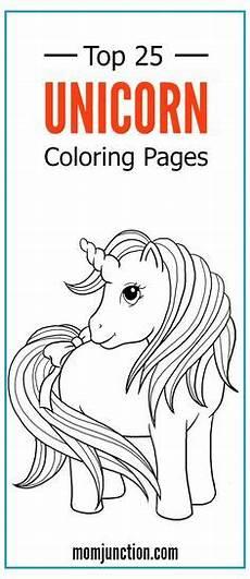 Unicorn Malvorlagen Kostenlos Vollversion Top 35 Free Printable Unicorn Coloring Pages Free