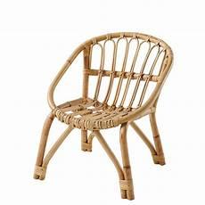 chaise en rotin chaise enfant en rotin plume maisons du monde