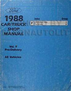 car engine repair manual 1988 lincoln town car engine control 1988 lincoln maintenance manual town car mark vii continental jacking towing ebay