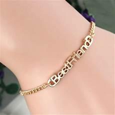 1 Pc Gold Bracelets For Pulseras Best Friend