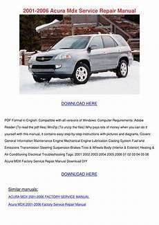 car repair manuals online free 2005 acura mdx security system 2001 2006 acura mdx service repair manual by feliciadailey issuu