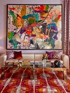 la peinture abstraite dans l int 233 rieur contemporain