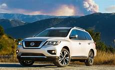 2017 Nissan Pathfinder Drive Review Car And Driver