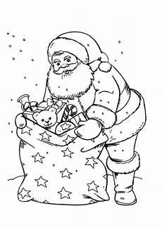 Santa Claus Free To Color For Santa Claus
