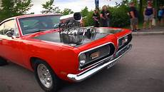 blown 69 plymouth barracuda muscle car epicness in one take youtube