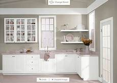 behr castle path and pure white for cabinets in 2019 purple kitchen walls purple kitchen