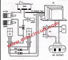 home inverter wiring diagram simple inverter circuit diagram projects eleccircuit