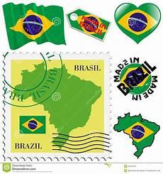 simbolos naturales de brasil national colours of brazil royalty free stock image image 33478376