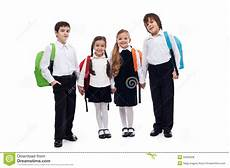 group of children holding going back to school image 32563528
