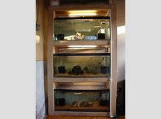 29 gallon double aquarium stand