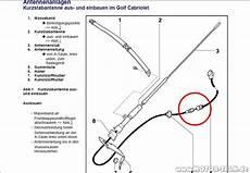 g3 antenne mit adapter antennenhasser vw golf 3