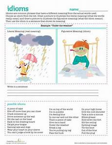35 best idioms images on pinterest teaching ideas figurative language and classroom ideas