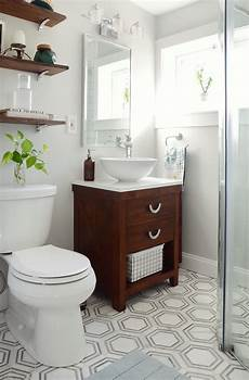 one room challenge small bathroom makeover reveal design fixation