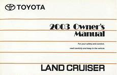 old car owners manuals 2003 toyota land cruiser head up display 2003 toyota land cruiser owners manual user guide reference operator book fuses 602693829199 ebay