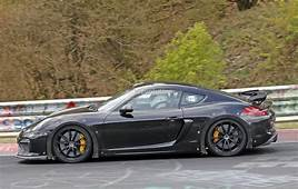 Next Porsche Cayman GT4 Spied On Nurburgring Prototype