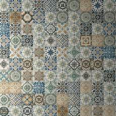 Shabby Chic Fliesen - nikea patchwork tiles multi coloured tiles direct tile