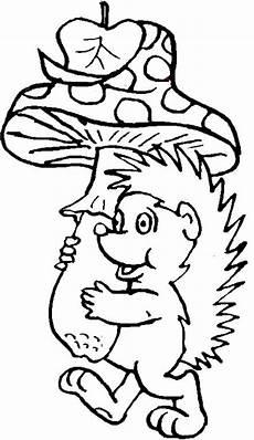 Igel Bild Ausmalbild Igel Ausmalbilder Malvorlagen Animierte Bilder Gifs