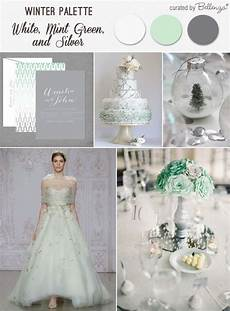 Mint And White Wedding Theme