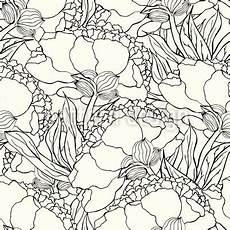 Jugendstil Malvorlagen Blumen Jugendstil Blumen Vektor Ornament