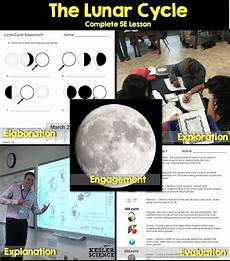 earth science lesson plans high school 13395 lunar cycle complete 5e lesson plan lesson plans middle school science earth science