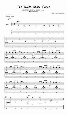 the bond theme song fingerstyle guitar tab pdf guitar sheet music guitar pro tab