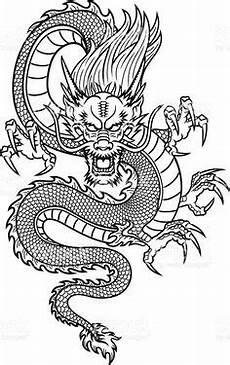 Ausmalbilder Japanische Drachen Free Coloring Page Coloring Simple