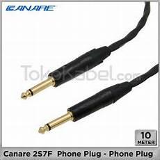 Harga Kabel Rca Panjang 10 Meter kabel speaker canare 2s9f speakon speakon 5m