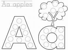 do a dot letter a printable 171 preschool and homeschool