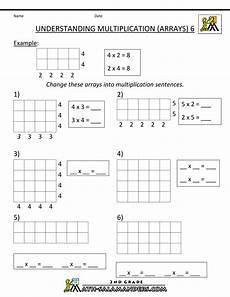 multiplication array worksheets for grade 1 4922 multiplication practice worksheets understanding multiplication arrays 6 gif 1 000 215 1 294