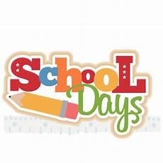 School Day Clipart