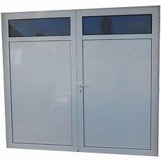 Porte De Garage Aluminium Isol 233 2 Vantaux Standard H 2