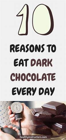 who love chocolate don t need excuses to eat it every day however if you believe that