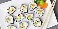 Sushi Finger Food Als Unterst 252 Tzung F 252 R Eine Gesunde