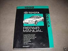 best car repair manuals 1998 toyota celica on board diagnostic system 1998 toyota celica service repair shop manual factory dealership 98 book ebay